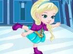 Frozen Elsa Patinação