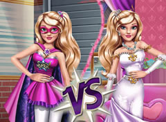 Barbie Super Heroína vs Princesa