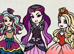 Colorir Ever After High