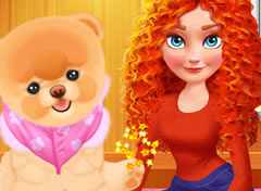 Princesa Merida e seu Cachorrinho
